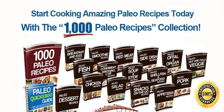 1000 paleo recipes review
