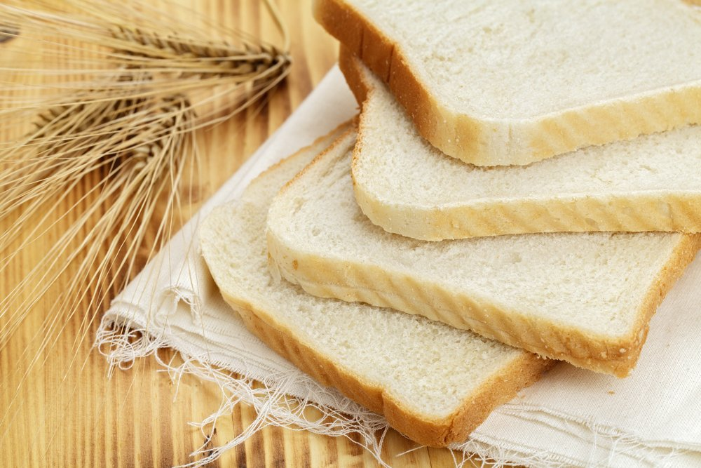 unhealthy white bread