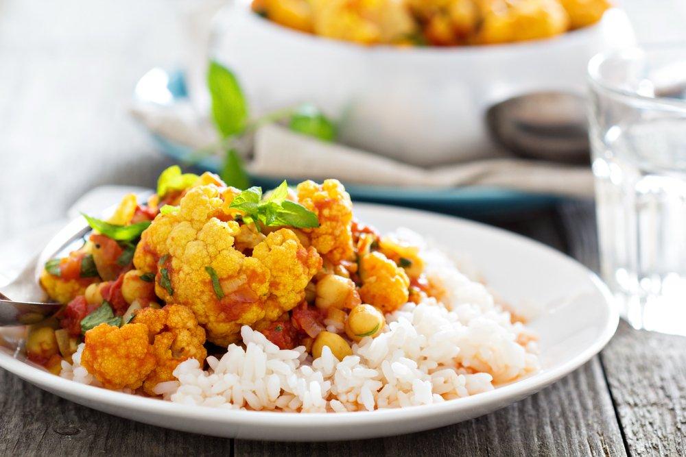 healthy curry cauliflower recipe
