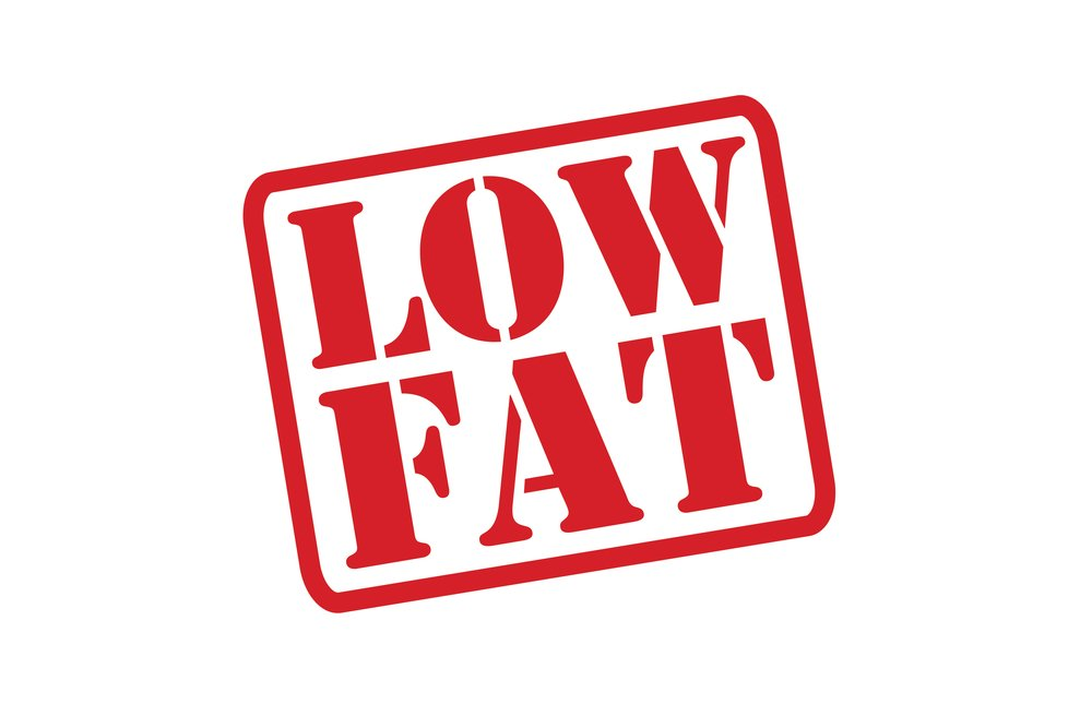 low fat doesn't mean healthy