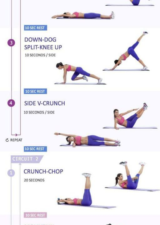 10-minute-flat-belly-workout-512x720 The Beachbody Challenge Health & Wellness Weight Loss & Fitness Exercises Weight Loss Tips  Weight Loss