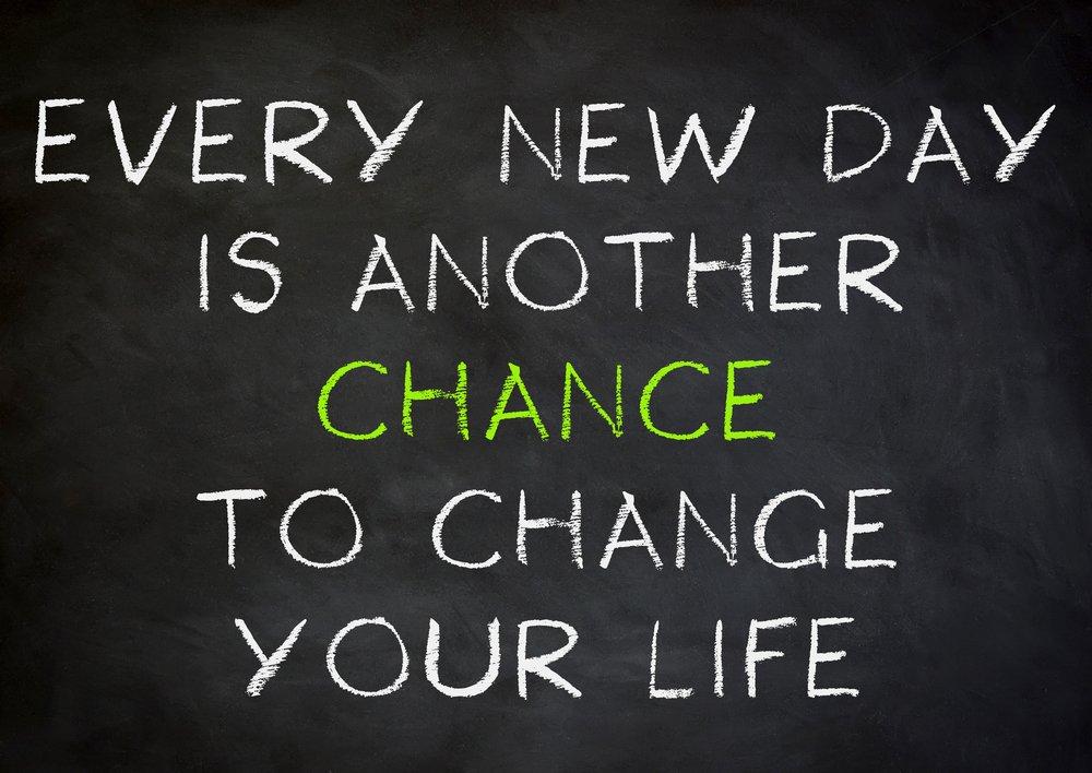 embrace life change