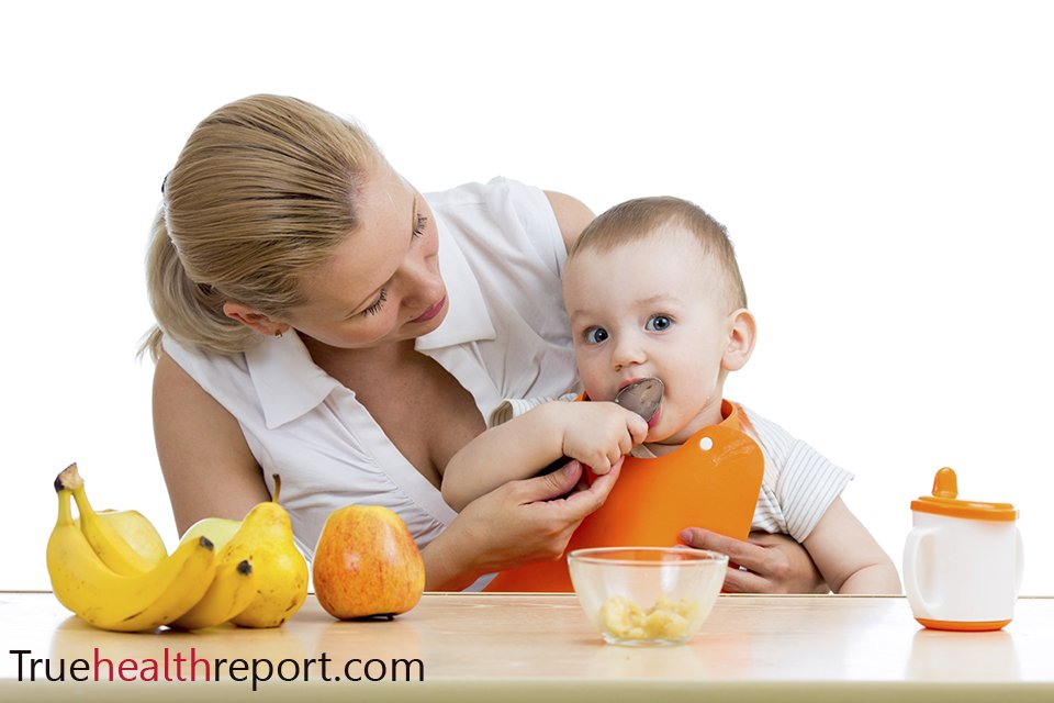 baby weaning healthy foods