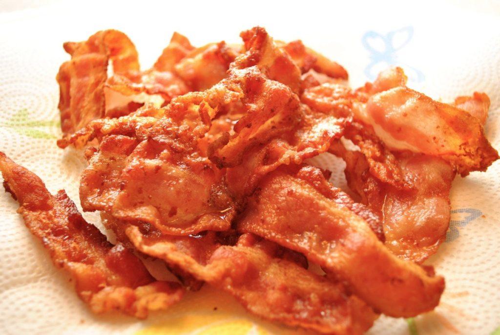 bacon unhealthy processed food