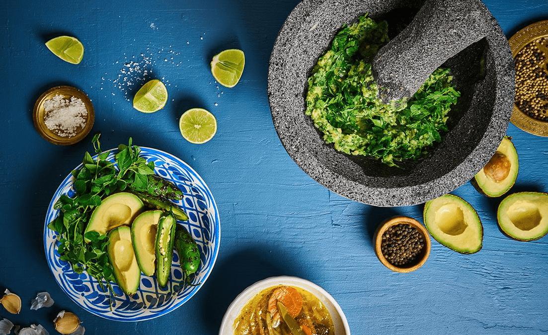 kale avocado detox salad recipe