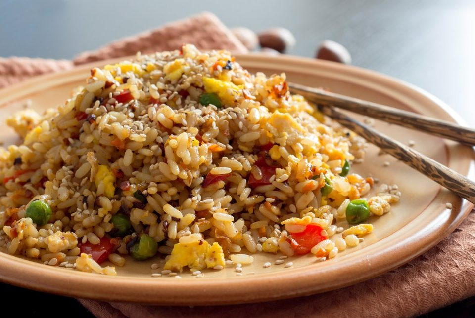 clean eating fried rice