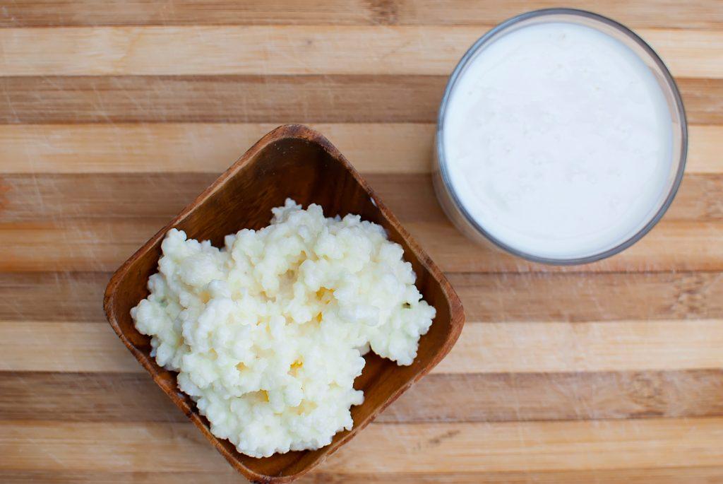 fresh organic cottage cheese