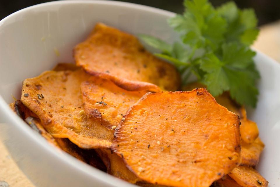 sweet potato excellent fiber rich food